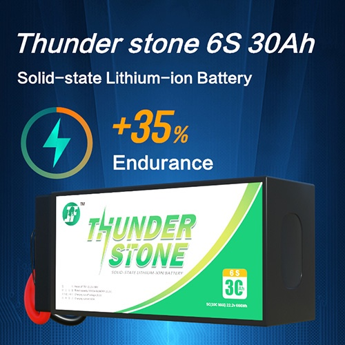 Solid State Lithium Battery 30Ah